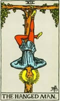 THE HANGED MAN Card