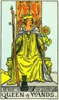 QUEEN OF WANDS Card