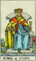 KING OF CUPS Card