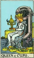 QUEEN OF CUPS Card