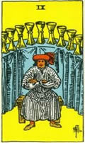 NINE OF CUPS Card