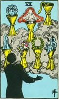SEVEN OF CUPS Card