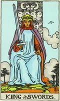 KING OF SWORDS Card