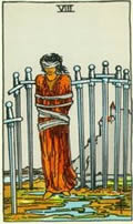EIGHT OF SWORDS Card
