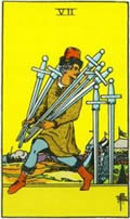 SEVEN OF SWORDS Card