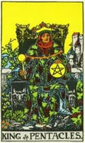 KING OF PENTACLES Card